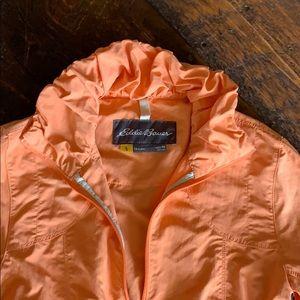 Eddie Bauer rain coat xs